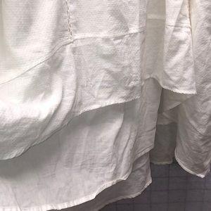 Melissa McCarthy Skirts - Melissa McCarthy Seven7 Swiss Dot hi low skirt